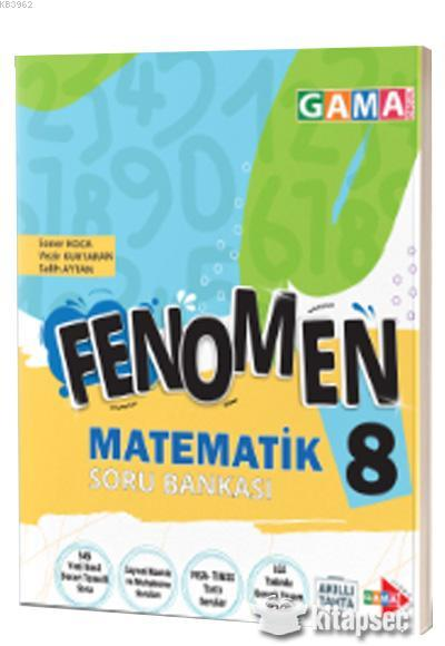 Gama Fenomen 8.Sınıf Matematik Soru Bankası
