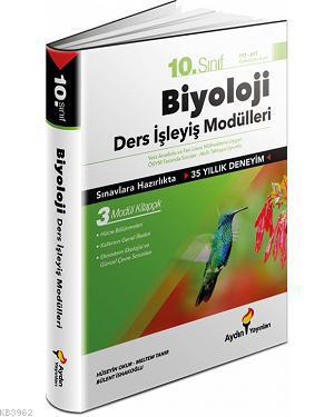 Aydın Yayınları 10. Sınıf Biyoloji Ders İşleyiş Modülleri Aydın