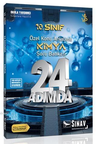Sınav Dergisi Yayınları 10. Sınıf Kimya 24 Adımda Özel Konu Anlatımlı Soru Bankası Sınav Dergisi