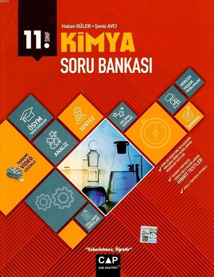 Çap Yayınları 11. Sınıf Anadolu Lisesi Kimya Soru Bankası Çap