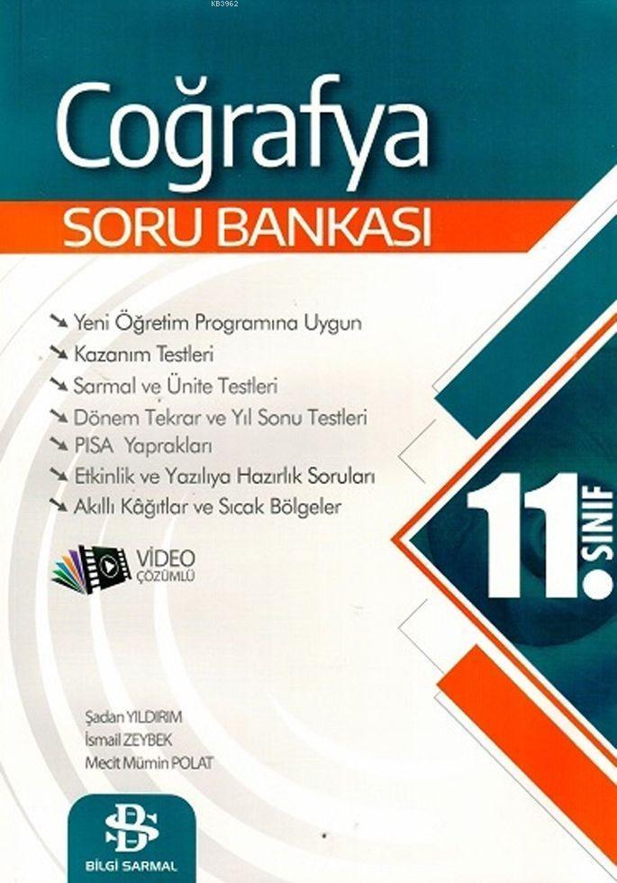 Bilgi Sarmal Yayınları 11. Sınıf Coğrafya Soru Bankası Bilgi Sarmal