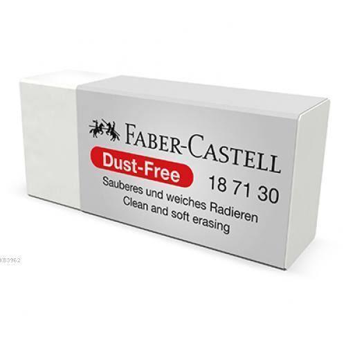 Faber Castell Dust Free Beyaz Silgi 187130