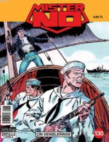 Mister No Sayı: 130 - Çin Denizlerinde