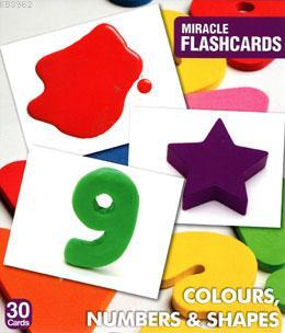Miracle Flashcards Colour,Number
