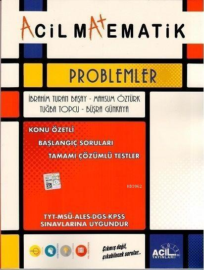 Acil Yayınları TYT Matematik Acil Problemler Acil