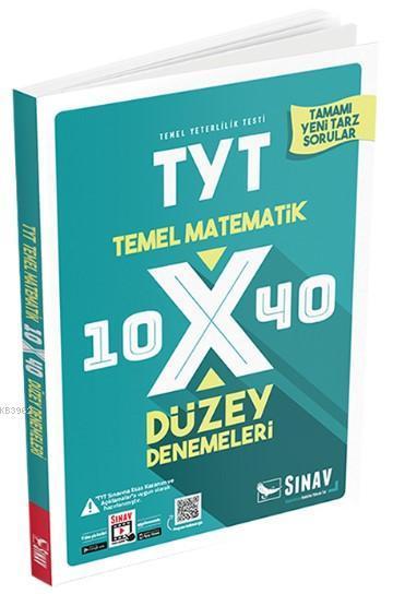 Sınav Dergisi Yayınları TYT Temel Matematik 10x40 Düzey Denemeleri Sınav Dergisi
