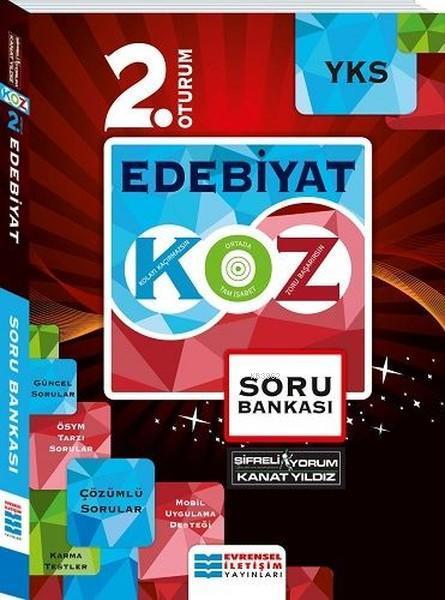 Evrensel İletişim Yayınları YKS 2. Oturum Edebiyat KOZ Serisi Soru Bankası Evrensel İletişim