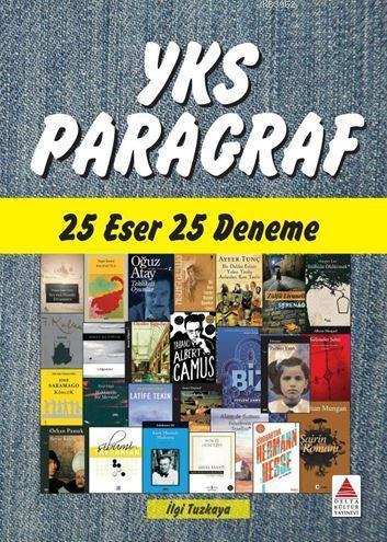 Delta Kültür Yayınları YKS Paragraf 25 Eser 25 Deneme Delta Kültür