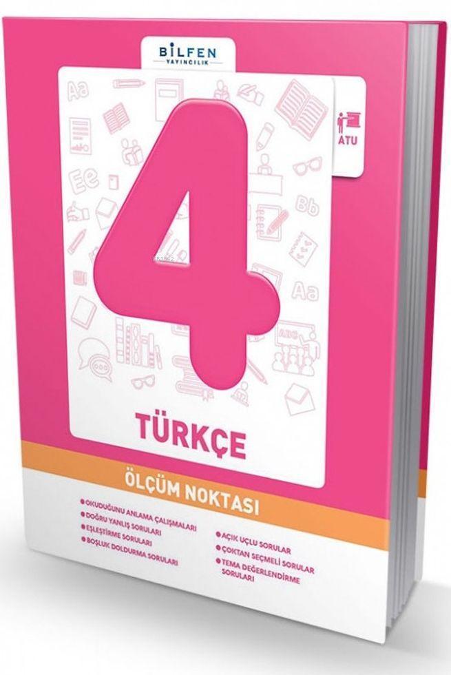 Bilfen Yayınları 4. Sınıf Türkçe Ölçüm Noktası Bilfen