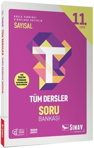 Sınav Dergisi Yayınları 11. Sınıf Tüm Dersler Sayısal Soru Bankası Sınav Dergisi