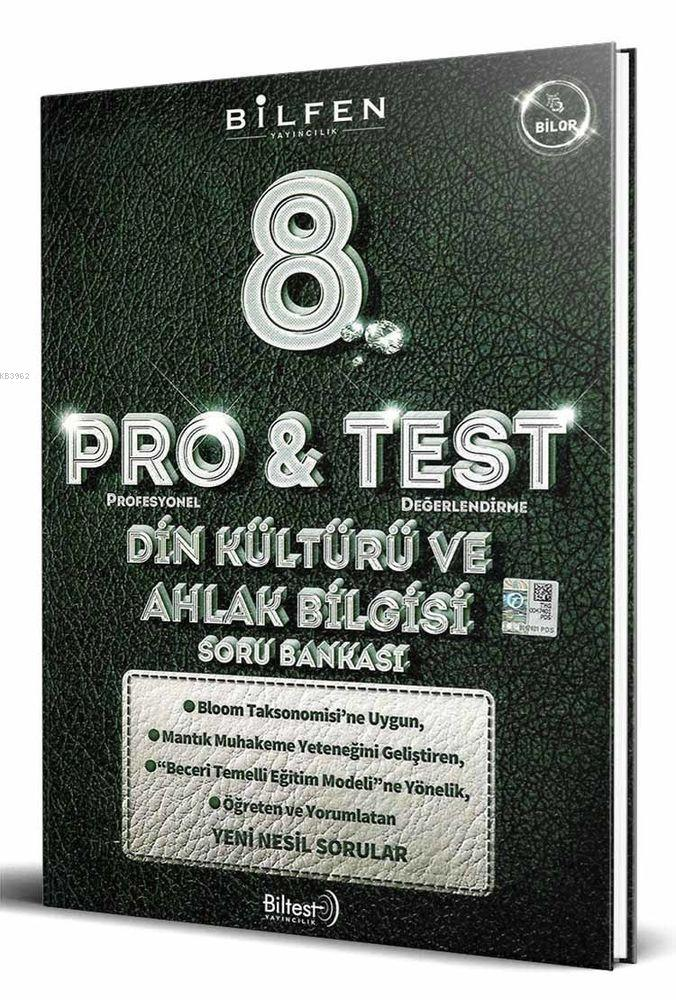 Bilfen Yayınları 8. Sınıf LGS Din Kültürü ve Ahlak Bilgisi ProTest Soru Bankası Bilfen