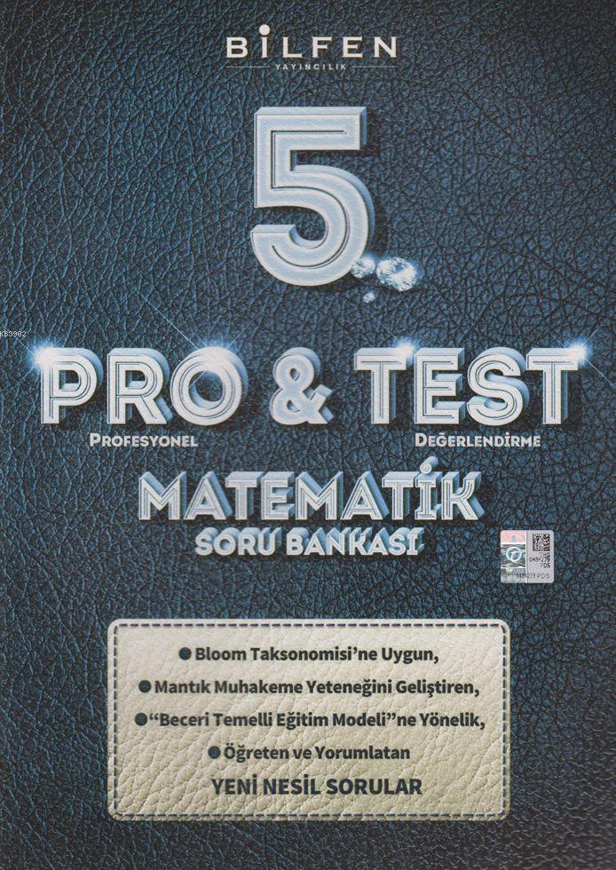 Bilfen Yayınları 5. Sınıf Matematik ProTest Soru Bankası Bilfen