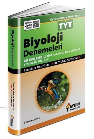 Aydın TYT Biyoloji 40 lı Deneme