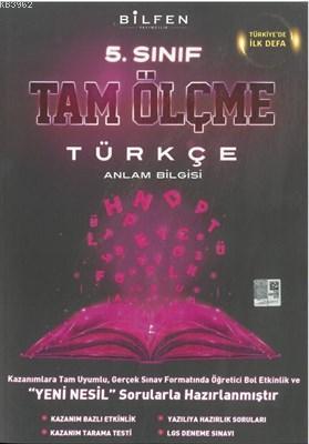 Bilfen Yayıncılık 5 Sınıf Türkçe Tam Ölçme Yeni