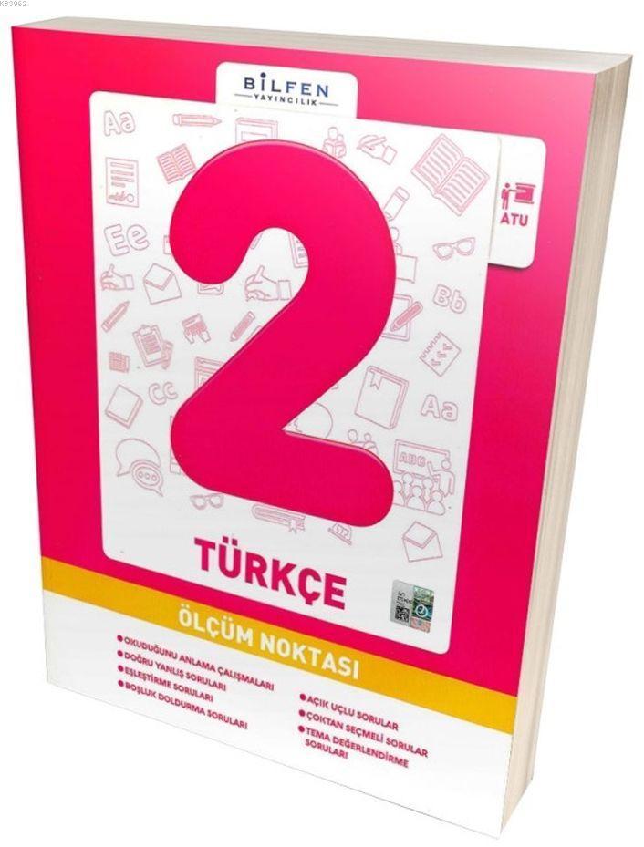 Bilfen Yayıncılık 2. Sınıf Türkçe Ölçüm Noktası
