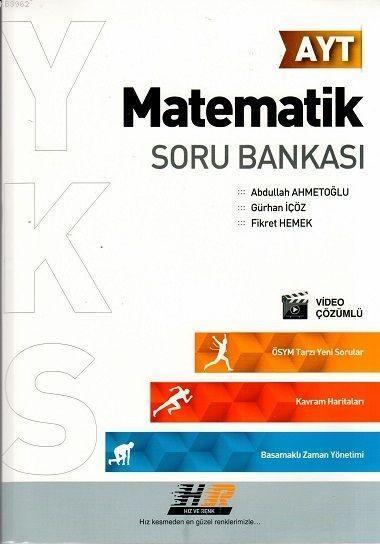 Hız ve Renk Yayınları AYT Matematik Soru Bankası Hız ve Renk
