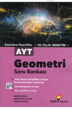 Aydın Yayınları AYT Geometri Soru Bankası Aydın