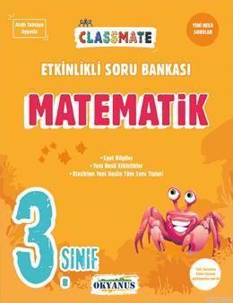 Okyanus Yayınları 3. Sınıf Matematik Classmate Etkinlikli Soru Bankası Okyanus Y