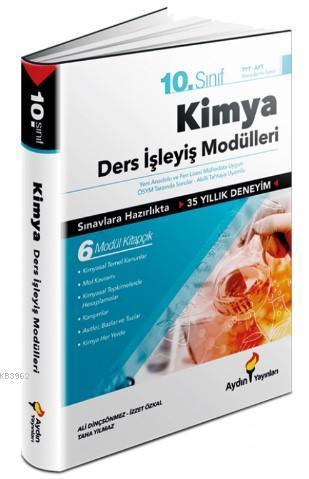Aydın Yayınları 10. Sınıf Kimya Ders İşleyiş Modülleri Aydın