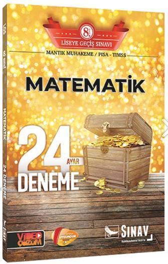 Sınav Dergisi Yayınları 8. Sınıf LGS Matematik 24 Deneme Sınav Dergisi