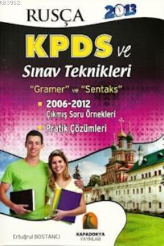 Rusça KPDS ve Sınav Teknikleri; Gramer - Sentaks