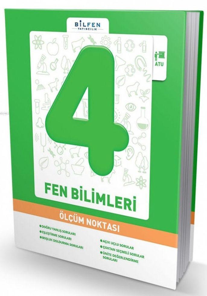 Bilfen Yayınları 4. Sınıf Fen Bilimleri Ölçüm Noktası