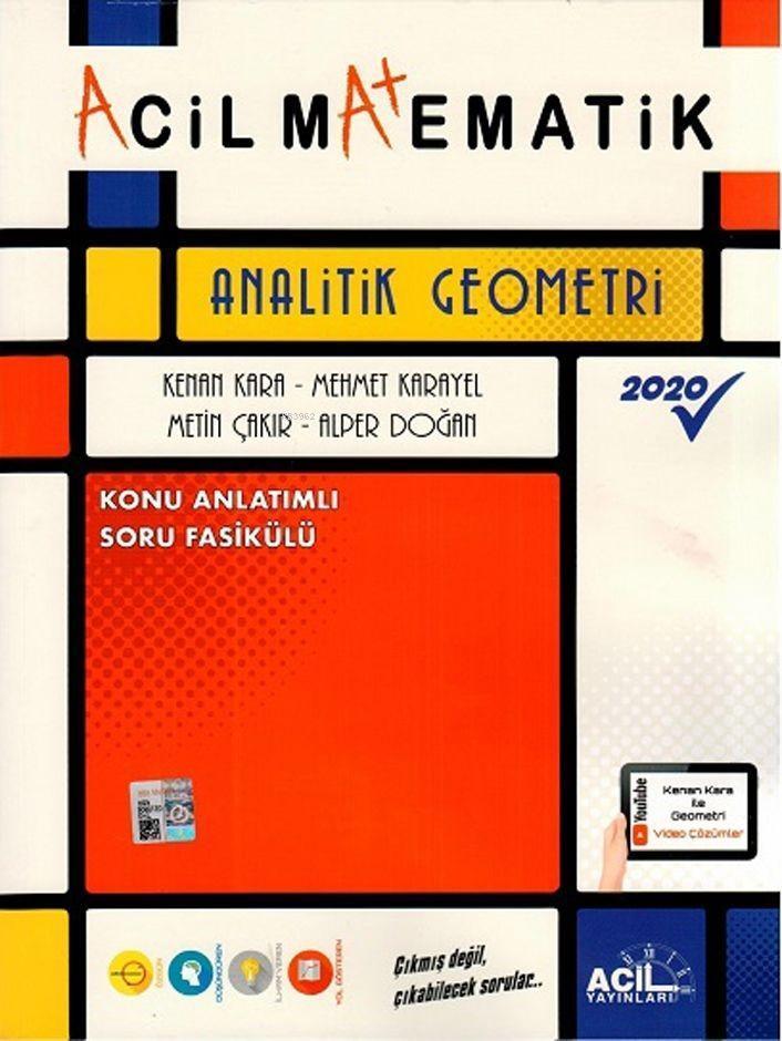 Acil Yayınları Analitik Geometri Konu Anlatımlı Soru Fasikülü Acil
