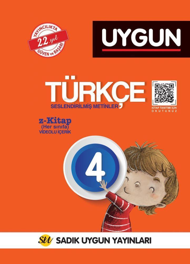 Sadık Uygun Yayınları 4. Sınıf Türkçe Sadık Uygun