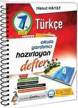 Çanta 7.Sınıf Defter Hazırlayan Türkçe