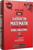 2020 KPSS ÖABT İlköğretim Matematik Video Destekli Konu Anlatımlı Modüler Set