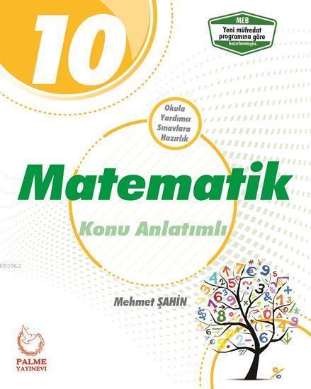 Palme Yayınları 10. Sınıf Matematik Konu Anlatımlı Palme