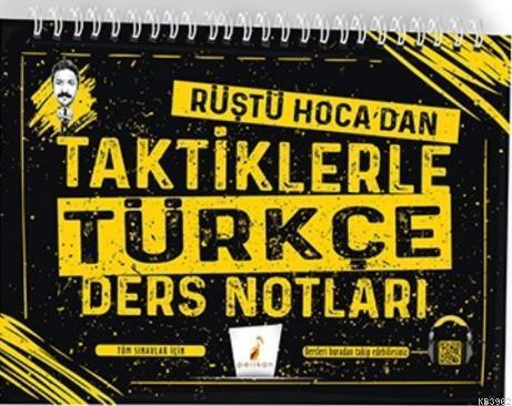 Tüm Sınavlar için Rüştü Hoca'dan Taktiklerle Türkçe Ders Notları