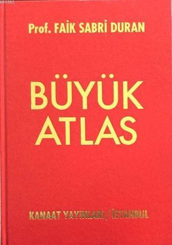 Kanaat Golden Büyük Atlas Ciltli
