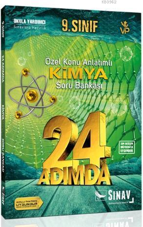 Sınav Dergisi Yayınları 9. Sınıf Kimya 24 Adımda Özel Konu Anlatımlı Soru Bankası Sınav Dergisi Sınav Dergisi