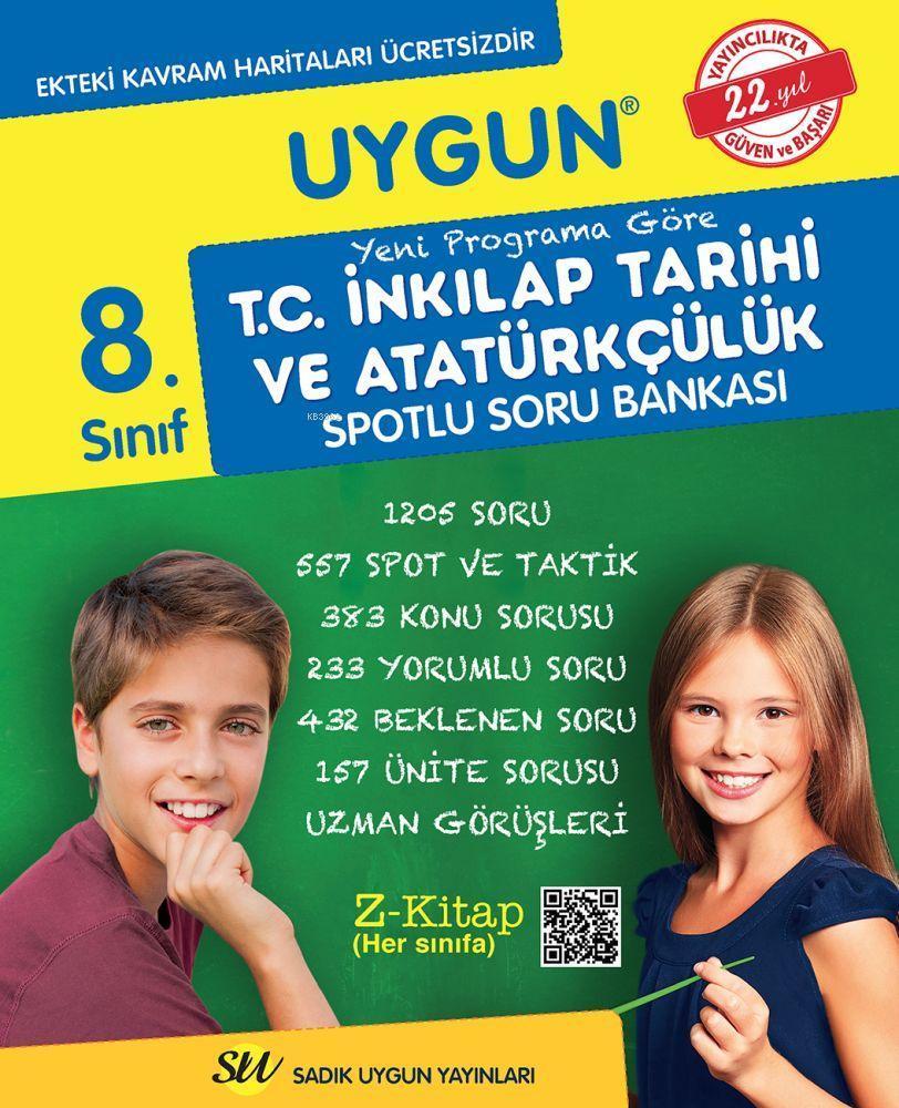 Sadık Uygun Yayınları 8. Sınıf LGS T.C. İnkılap Tarihi ve Atatürkçülük Soru Bankası Sadık Uygun