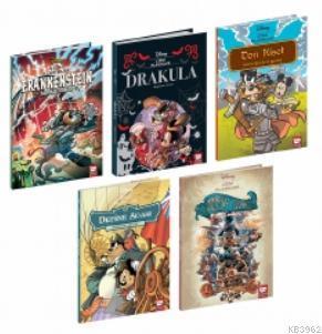 Disney Çizgi Klasikleri Set (5 Kitap)