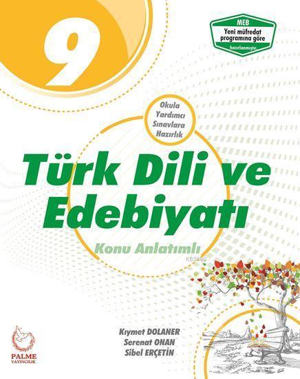 Palme Yayınları 9. Sınıf Türk Dili ve Edebiyatı Konu Anlatımlı Palme