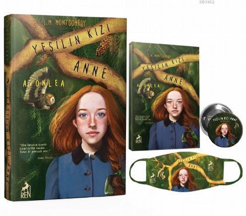 Yeşilin Kızı Anne Avonlea; Defter, Rozet, Maske Hediyeli