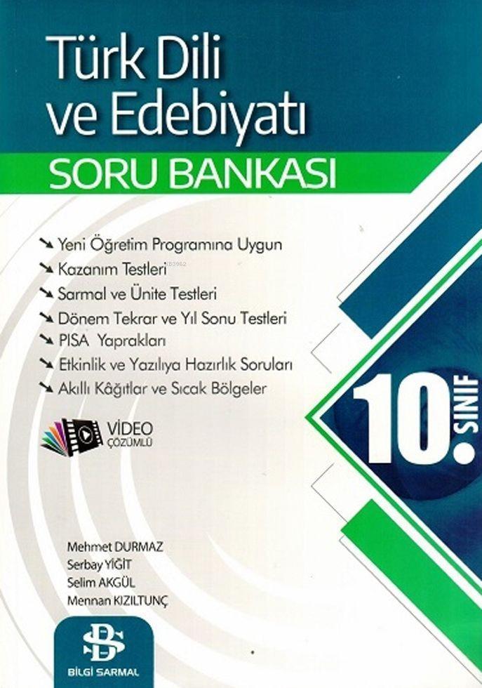 Bilgi Sarmal Yayınları 10. Sınıf Türk Dili ve Edebiyatı Soru Bankası Bilgi Sarmal