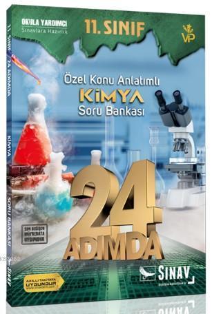 Sınav Dergisi Yayınları 11. Sınıf Kimya 24 Adımda Özel Konu Anlatımlı Soru Bankası Sınav Dergisi