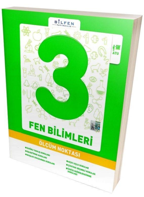 Bilfen Yayınları 3. Sınıf Fen Bilimleri Ölçüm Noktası Bilfen