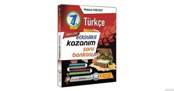 Çanta 7.Sınıf Kazanım Türkçe Soru Bankası