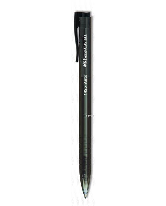 Faber Castell 1425 Auto Tükenmez Kalem Siyah