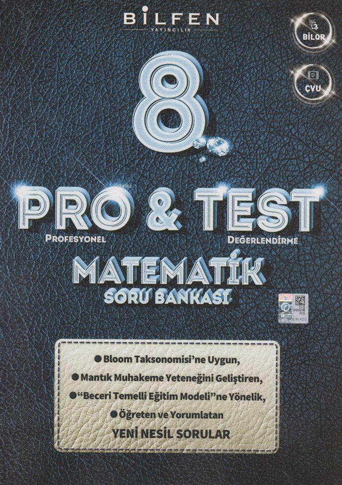 Bilfen Yayınları 8. Sınıf LGS Matematik ProTest Soru Bankası Bilfen