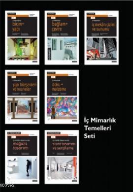 İç Mimarlık Temelleri Seti (7 Kitap-Özel Kutu)