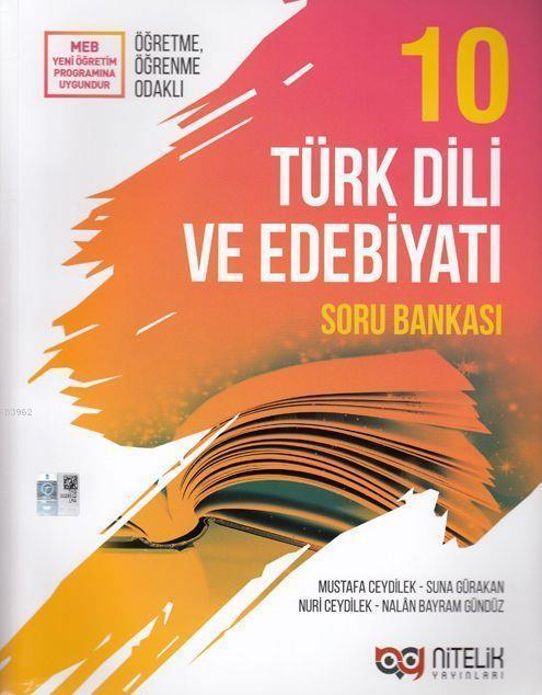 Nitelik Yayınları 10. Sınıf Türk Dili ve Edebiyatı Soru Bankası Yeni