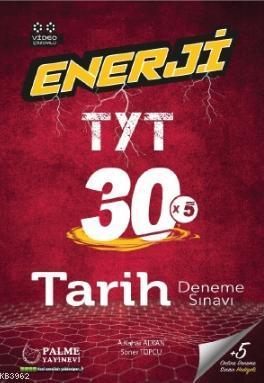 Enerji TYT Tarih 30 Deneme Sınavı