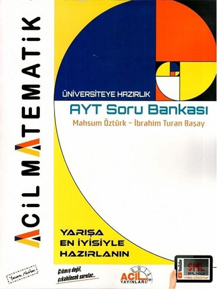 Acil Yayınları AYT Matematik Soru Bankası Acil