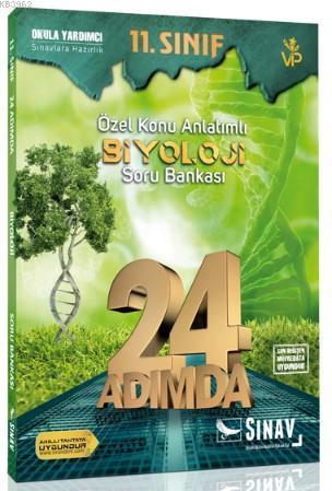 Sınav Dergisi Yayınları 11. Sınıf Biyoloji 24 Adımda Özel Konu Anlatımlı Soru Bankası Sınav Dergisi