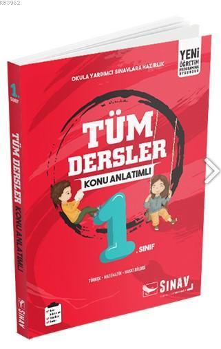 Sınav Dergisi Yayınları 1. Sınıf Tüm Dersler Konu Anlatımlı Sınav Dergisi